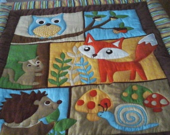 Woodsy Animals Quilt