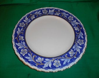 "One (1), 9 7/8"" Dinner Plate, from Grindley, in the Elysian Pattern."