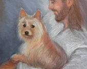 Jesus with the Little Dog