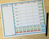 Food and Fitness Planner (3-hole Punch)