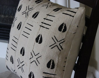 Mudcloth Pillow - African Design