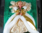 Vintage 1994 Happy Holiday Special Edition Barbie Doll, New MIB
