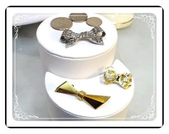 Vintage Bow Brooch Lot - Pin-1913a-121812000