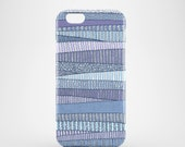 Winter Fields mobile phone case iPhone 7 iPhone 7 Plus iPhone SE iPhone 6S iPhone 6 iPhone 5S iPhone 5 iPhone blue case