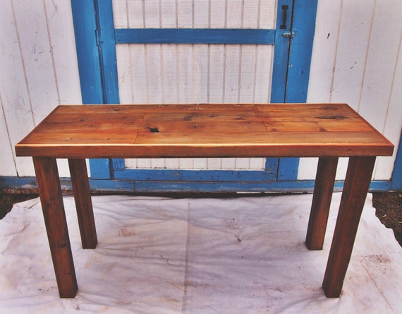 CYBERSALE Reclaimed Wood Counter Height Table 64 X - Reclaimed Wood Counter Height Table WB Designs