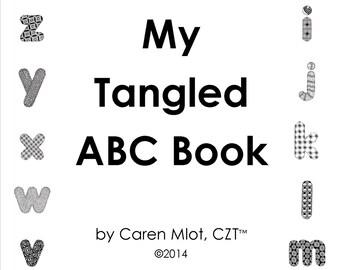 "ZENTANGLE® ABC E-Book- ""My Tangled ABC Book"""