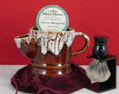 Stoneware Ceramic Shave Scuttle Mug from Stangl mold