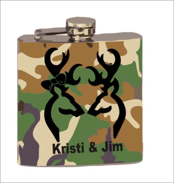 camo flask, wedding flask, groomsman gift, guy gift, men, sportsman flask, hunters flask, flask for guys, mens gift,