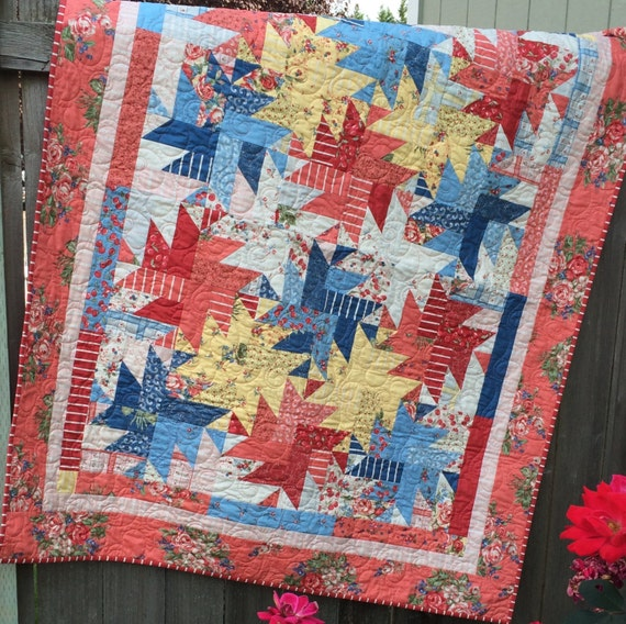 Mums the Word Quilt Pattern ~ PDF File