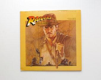 Raiders of the Lost Ark LP Soundtrack - Indiana Jones - John Williams - Steven Spielberg