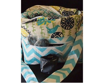 Large Dslr camera bag, Camera purse, Fits Nikon Canon  Pentax  Camera case, Slr Camera bag, Chevron Camera bags 10x5x10