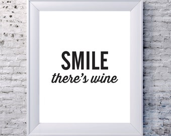 Smile There's Wine