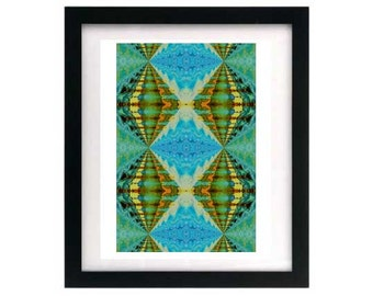 8.5 x 11 Signed + Numbered Abstract Giclée Print