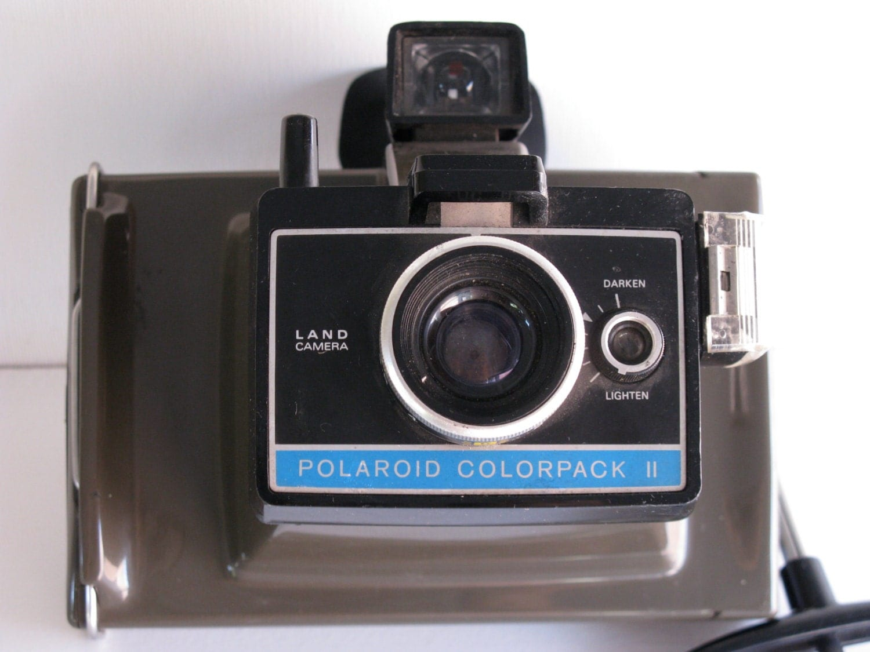 polaroid land camera colorpack 2 instant color pictures. Black Bedroom Furniture Sets. Home Design Ideas