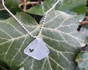 Seaglass Heart Pendant