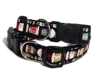 Coffee Cup Dog Collar
