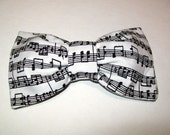 Bow Ties clipon custom made with your fabric made to order your size