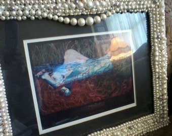 Pearl Framed Mermaid Ophelia