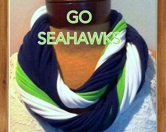 Seattle  Seahawks Scarf  - Seahawks Scarf 12th Man
