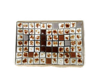 Mid Century Modern Tile Mosaic Tray