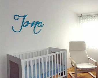 Baby name Nursery Wooden Letters