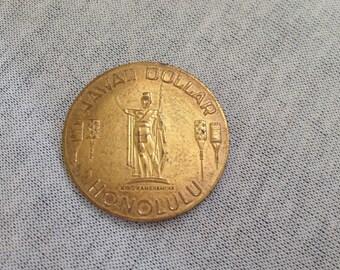 Vintage Honolulu Hawaii Dollar