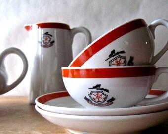 Vintage Restaurant Ware, Vintage Coffee Set, Vintage Tea Pot, Coffee Pot, Coffee Cups, Golf Club, Country Club, Diner Ware, Vintage China