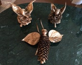 Pinecone Angels - 2 Figures + 1 Ornament - Annabelle's Angels