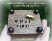 Additional carving for your custom made music boxes or jewelry boxes