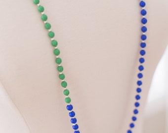 Kelly Colorblock Necklace