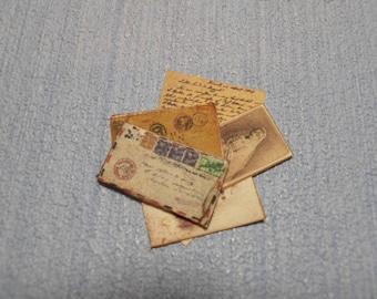 Gaël Miniature Letter set vintage mail 2