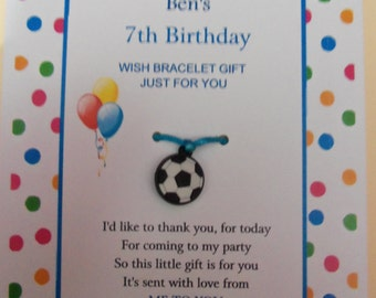 Personalised Balloon Birthday Thank You Gift