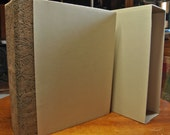 Handmade Blank Scrapbook Album with Storage Case