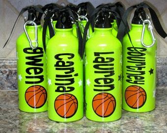 Personalized Aluminum Water Bottle-Basketball