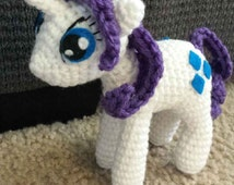 Free Crochet Pattern For My Little Pony Eyes : Unique amigurumi pony related items Etsy