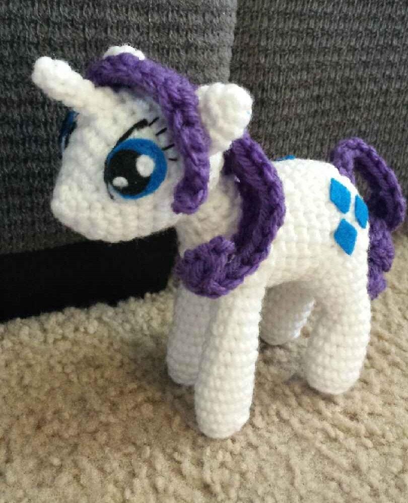 Crochet Patterns For My Little Pony