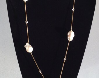 Baroque Fresh Water Pearls Necklace
