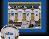 PERSONALIZED & FRAMED MLB Kansas City Royals Sports Print