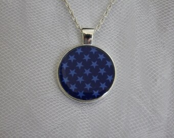Midnight Blue Star Pendant