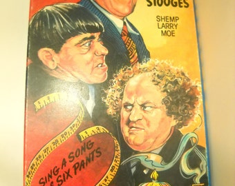 The Three Stooges Sing A Song Of Six Pants Amp Malice In