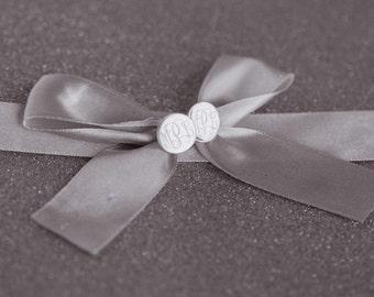 Christmas Present Monogram Earrings in Sterling Silver for Daughter, Girls, Women, Bridesmaids