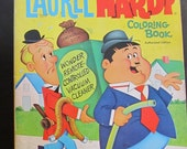 Larry Harmon's Laurel And Hardy Coloring Book 1968 - Whitman Publishing