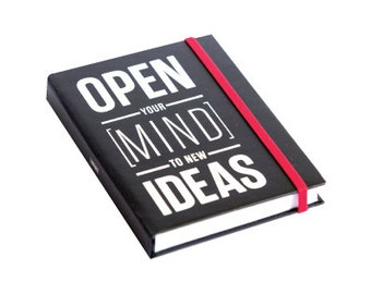 Open Your Mind Mini Journal by [LOVE TO BE]