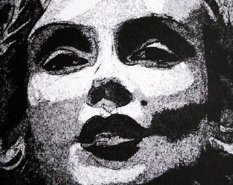 Marilyn Monroe - limited edition screenprint