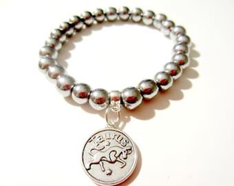 Taurus Bracelet - Zodiac Bracelet - Taurus Zodiac Bracelet