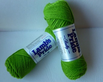 Yarn Sale  - Limeaid Lamb's Pride Bulky by Brown Sheep Company