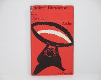 Die Physiker (The Physicists) by Friedrich Durrenmatt 1962 Vintage German Book