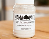 Daily Face Wash and Mask, organic, chamomile, natural skin care, mama pacha, cleansing