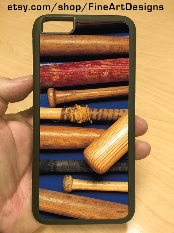iPhone Case Vintage Wood Baseball Bats iPhone 6/6+ iPhone 5/5s iPhone 4/4s