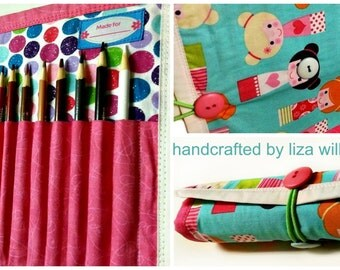 Lunch Time Crafts Pencil Roll